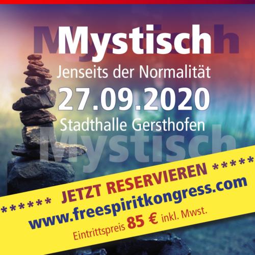 Freespirit Bewusstseinskongress 2020